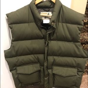 Men's heavy winter vest.